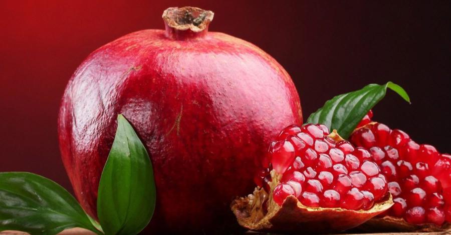 Chegou a época da Romã – Conheça os seus benefícios para a saúde!